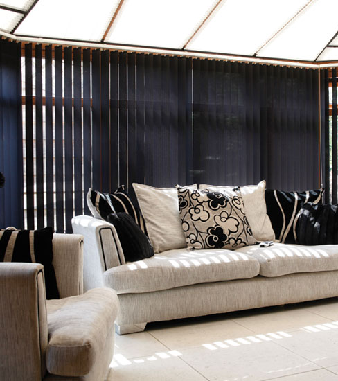 Conservatory Blinds Black