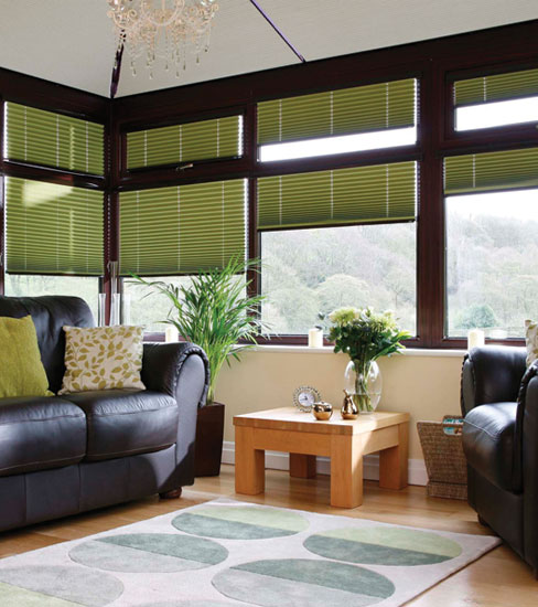 Conservatory Blinds Brown